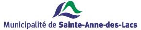 La Municipalité de Sainte-Anne-des-Lacs